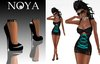 **NOYA** [PROMO] Forever Blue Outfit with Extreme High Pumps