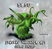 Shoulder Cthulhu (Slime Green)(Boxed)
