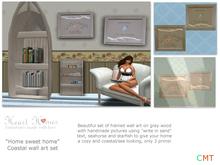 <Heart Homes Furniture> Coastal Wall Art Set