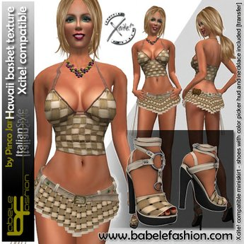 Babele Fashion Hawaii Basket Dress