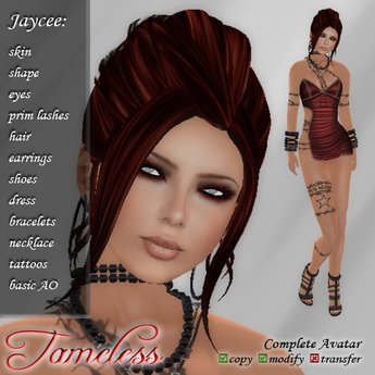 *DISCOUNT* Tameless Complete Female Avatar - Jaycee, skin, shape, hair