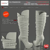 FULL PERMISSIONS Strappy boots made by RedPoly