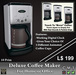 Deluxe Coffee Maker, Coffee Machine, Gives Coffee Cup