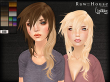 RAW HOUSE :: Lightning Hair [All Colors] w/ texture changing highlights