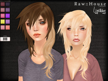 RAW HOUSE :: Lightning Hair [Hot Pack] w/ texture change highlights
