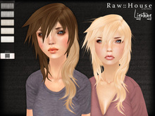 RAW HOUSE :: Lightning Hair [Whites] w/ texture changing highlights