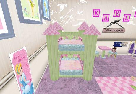 Second Life Marketplace Princess Bunk Bed