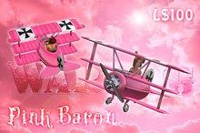 WarBug Airplane - Pink Baron