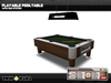 Playable Pool Table ™