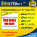 Group Invite plugin for HippoRent /// Powered by SmartBots