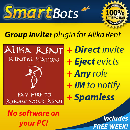 Group Inviter plugin for Alika Rent /// Powered by SmartBots