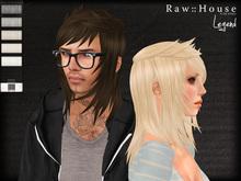 RAW HOUSE :: Legend Hair [Whites]