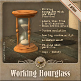 [OO] Hourglass - Working, scripted hourglass