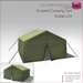 %50SUMMERSALE Full Perm Sculpted Camping Tent - 3 prim Tent Cabin Builder's Kit Set FULL PERM