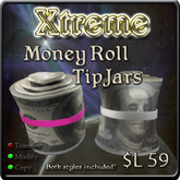 Money Roll Tipjars