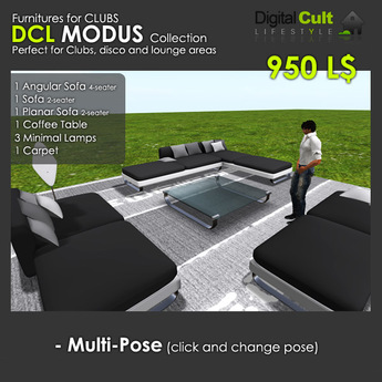 *** DCL MODUS collection - Club Furnitures