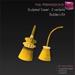 %50WINTERSALE Full Perm Sculpted Tassel - 2 styles - Curtain Tassels Textured Builder's Kit Set