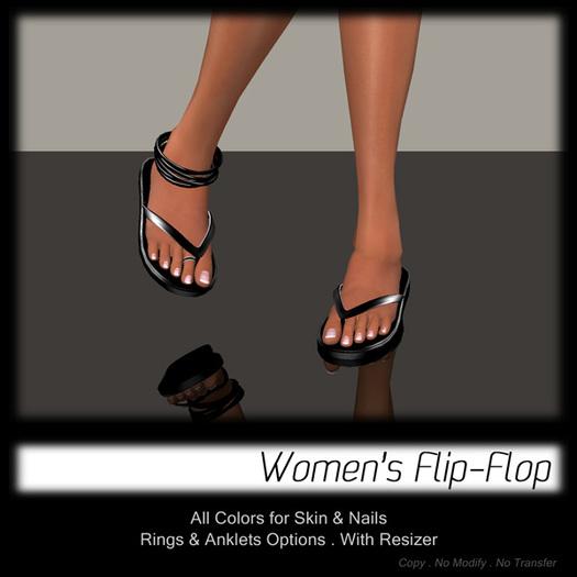 - MPP - Women FlipFlop - Black