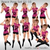 ++DESIRE++ Peace Pose set 01-10