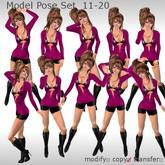 ++DESIRE++ Model Pose Set 11-20