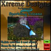 Meeroos Sparkling Volcano ( Waterfall ) Habitat - Pen - Cage - Enclosure - Meeroo