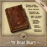 [OO] My Dear Diary - Store and manage journal entries!