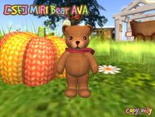 [SF] MIRI Bear AVA(tiny,avatar)