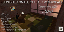 Domicile: Furnished Small Office/Workspace