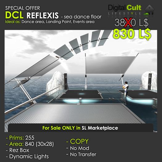*** DCL REFLEXIS - sea dance floor - Special OFFER!