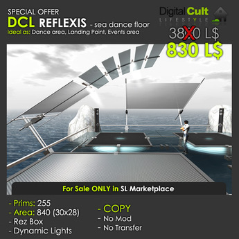 *** DCL REFLEXIS - sea dance floor - Special OFFER!