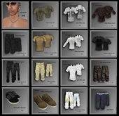 @ ! Bliss Designs ~  XM Collection / Sexy Men's Clothing / Ready 4 Resale / Full Perm / Full Perms / Full Permission