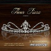 EarthStones Fleur Tiara - Diamond (BOX)