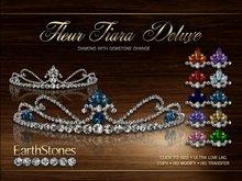 EarthStones Fleur Tiara - Diamond Deluxe (BOX)