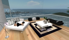 Designer Prims - Modern Lounge & Living Complete Set