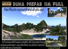 PROMO 30 K OFF! Duna Prefab Sim Full  version - A sim in a box-  tropical sim -