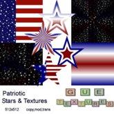 Patriotic Stars & Textures
