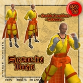 Shaolin Monk outfit >>Tokuno Wind<<