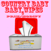 country baby huggable baby wipes with touch giver