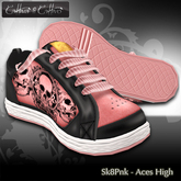 Cattiva Shoes Mens and Womens Sk8Sneak - Aces High