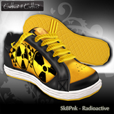 Cattiva Shoes Mens and Womens Sk8Sneak - Radioactive