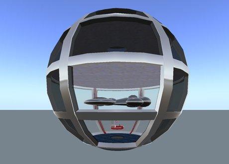 Star Port Alpha v3.7 - 100m Ship / Rover Bots / TOS Self Docking Bays