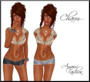 ✦CLEARANCE✦ Amour Fashion - Charm Outfit - Brown