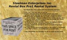 Rental Box Pro1 Box