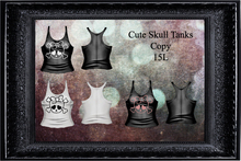 Cute Skulls Tanks Pack