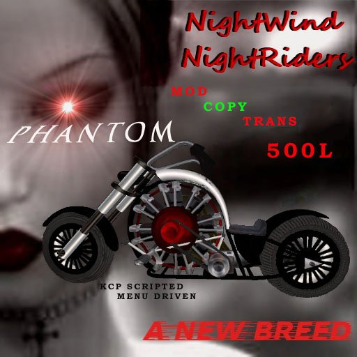 Phantom Motorcycle Bike