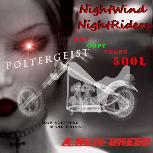 Vampire Poltergeist Motorcycle Bike