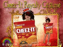 *Boof. Chez-It Royalty Costume