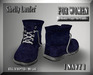 ::: Shelly Laufer Work Boots [Navy] For Women :::