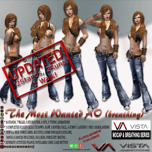 VISTA ANIMATIONS-MOST WANTED AO