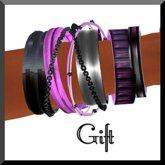 Amour Fashion - Bracelet Purple